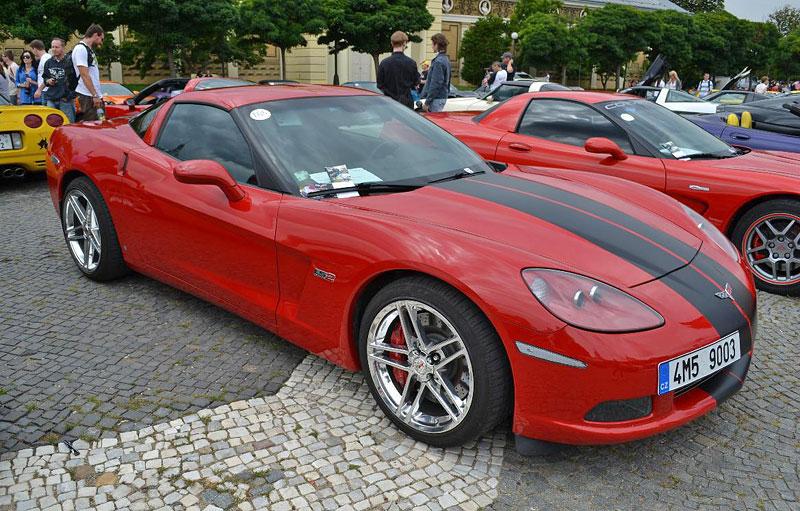 Corvette sraz Praha 2012: velká fotogalerie: - fotka 140