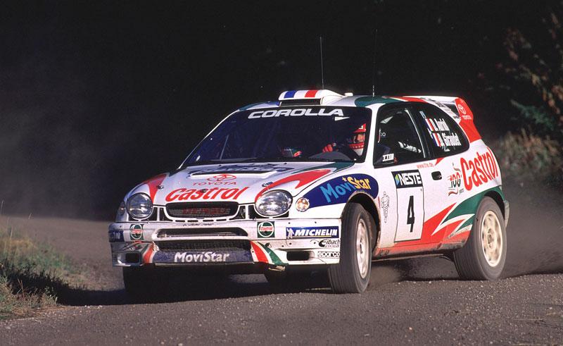 Toyota v Goodwoodu připomene své úspěchy v rallye: - fotka 76