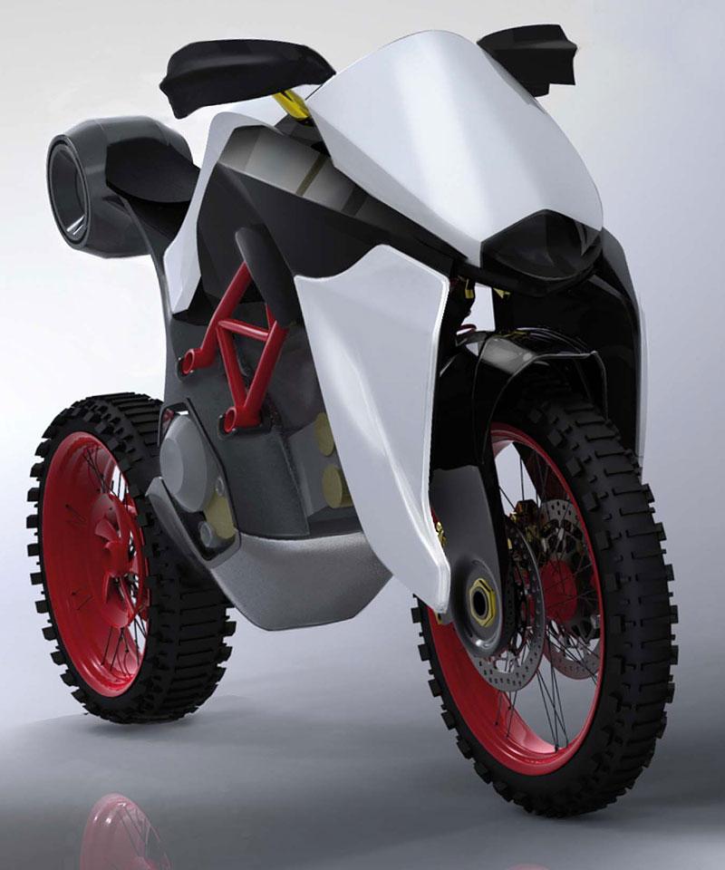 Ducati Students Concept – mládí vpřed: - fotka 14