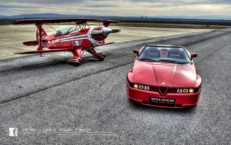 Vilner Il Mostro: Alfa Romeo RZ jako ze škatulky: - fotka 7