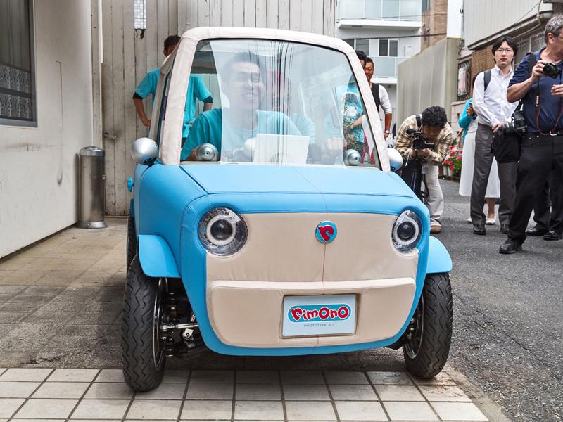 Rimono EV: Elektrický hadraplán z Japonska? Už příští rok: - fotka 5