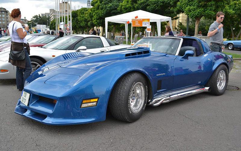 Corvette sraz Praha 2012: velká fotogalerie: - fotka 150