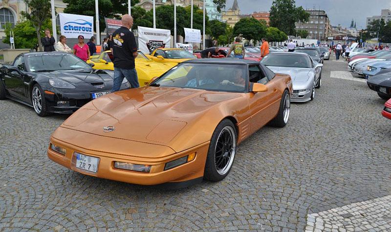 Corvette sraz Praha 2012: velká fotogalerie: - fotka 158