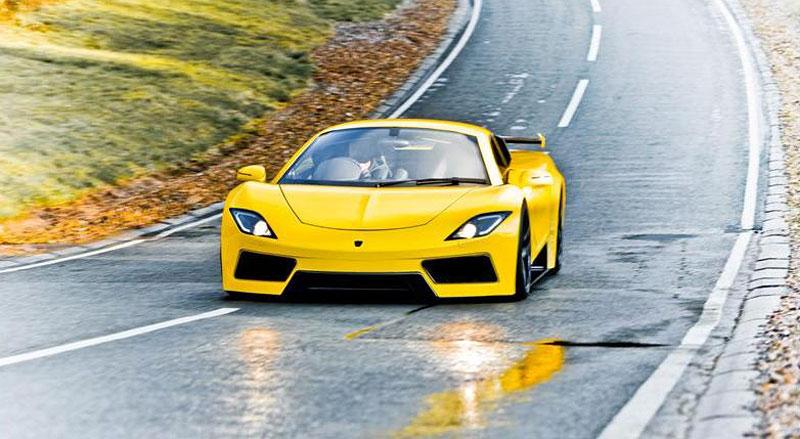 Arash AF8: Britský supersport se 7,0 V8 (410 kW): - fotka 4