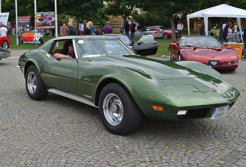Corvette sraz Praha 2012: velká fotogalerie: - fotka 162