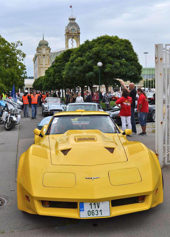 Corvette sraz Praha 2012: velká fotogalerie: - fotka 163