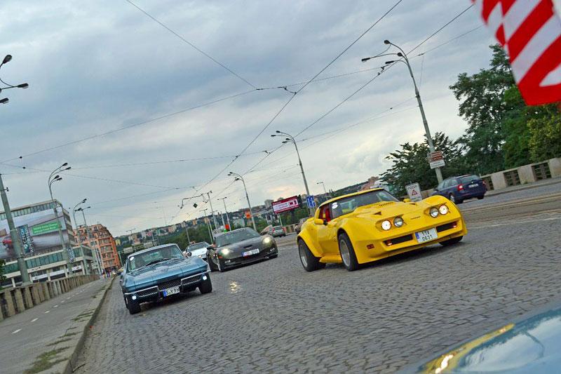 Corvette sraz Praha 2012: velká fotogalerie: - fotka 164