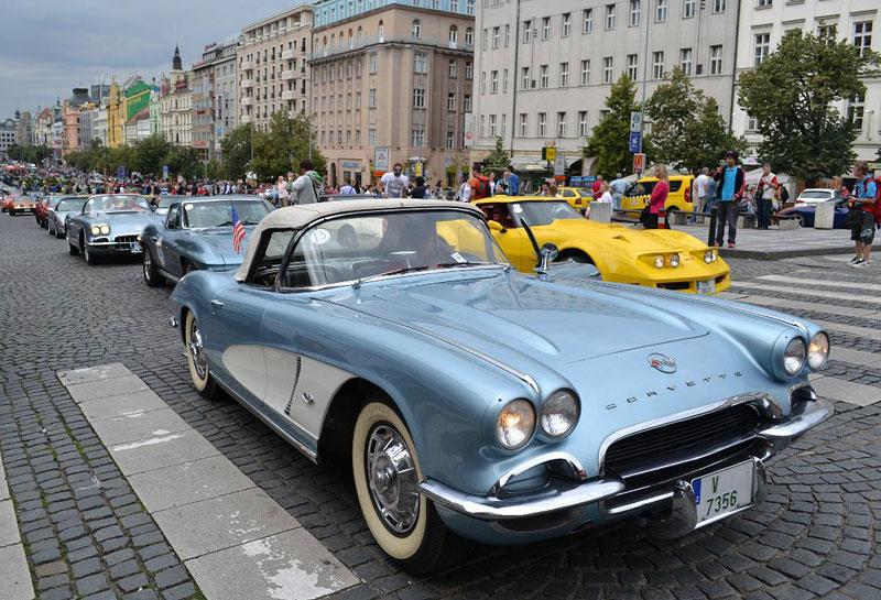 Corvette sraz Praha 2012: velká fotogalerie: - fotka 165