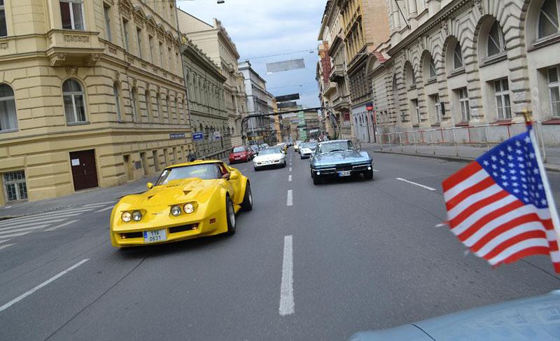 Corvette sraz Praha 2012: velká fotogalerie: - fotka 166
