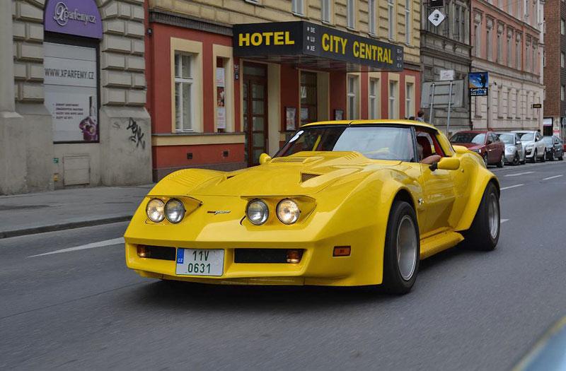 Corvette sraz Praha 2012: velká fotogalerie: - fotka 167