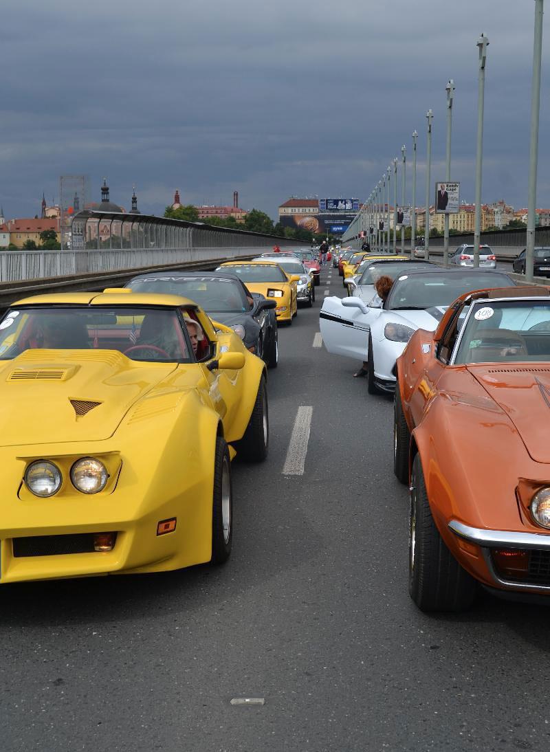 Corvette sraz Praha 2012: velká fotogalerie: - fotka 169