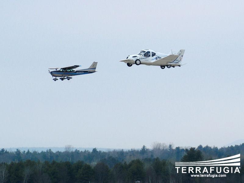 Terrafugia Transition: letadlo schopné jízdy po silnici: - fotka 15