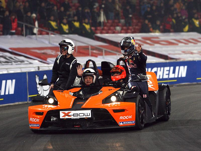 Alain Prost se zúčastní Race of Champions 2010: - fotka 50