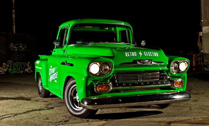 Retro Electro: 1958 Chevrolet Apache na elektřinu (video): - fotka 2