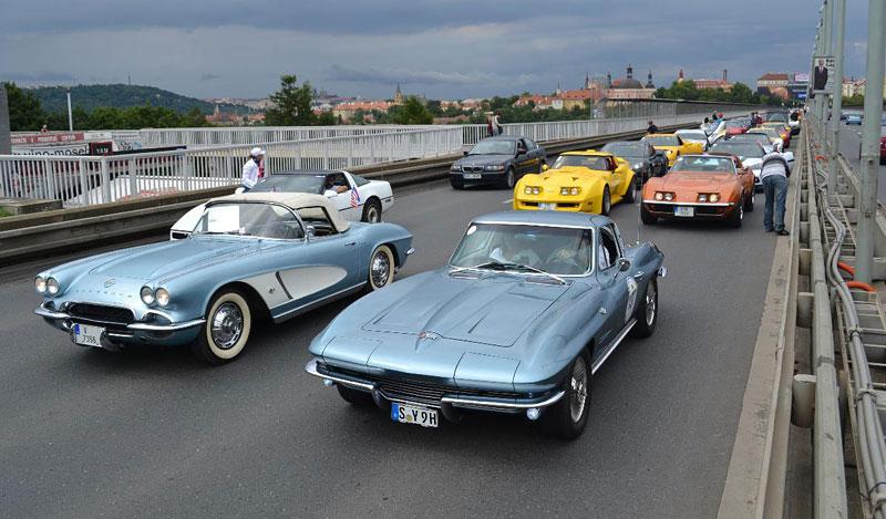 Corvette sraz Praha 2012: velká fotogalerie: - fotka 170