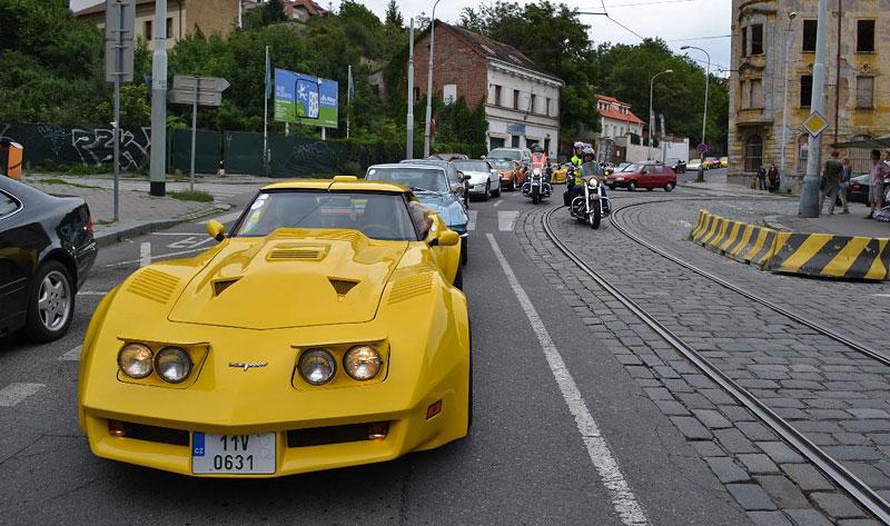 Corvette sraz Praha 2012: velká fotogalerie: - fotka 171