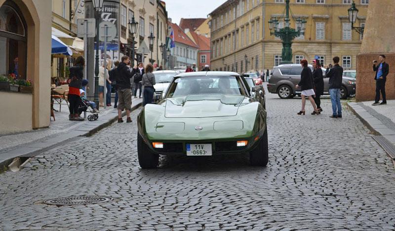 Corvette sraz Praha 2012: velká fotogalerie: - fotka 172