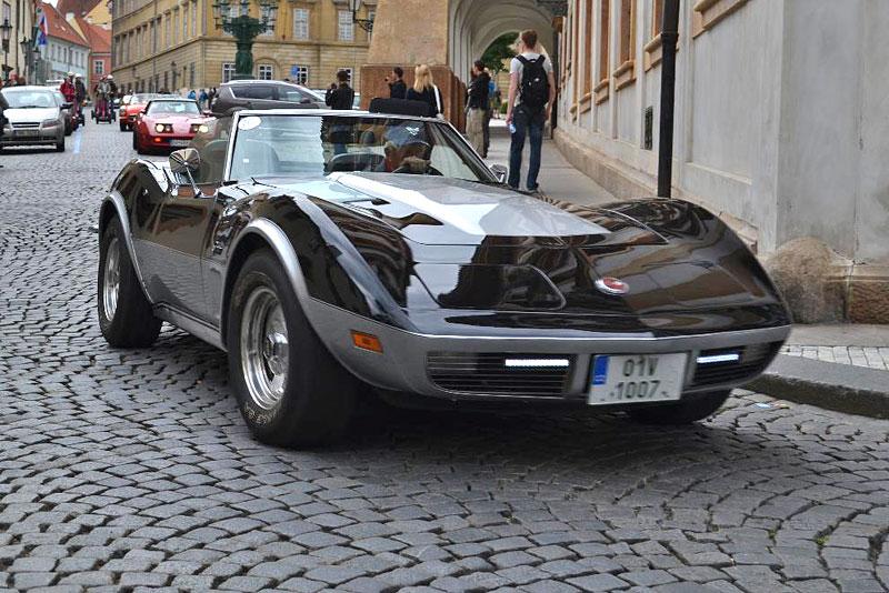 Corvette sraz Praha 2012: velká fotogalerie: - fotka 173
