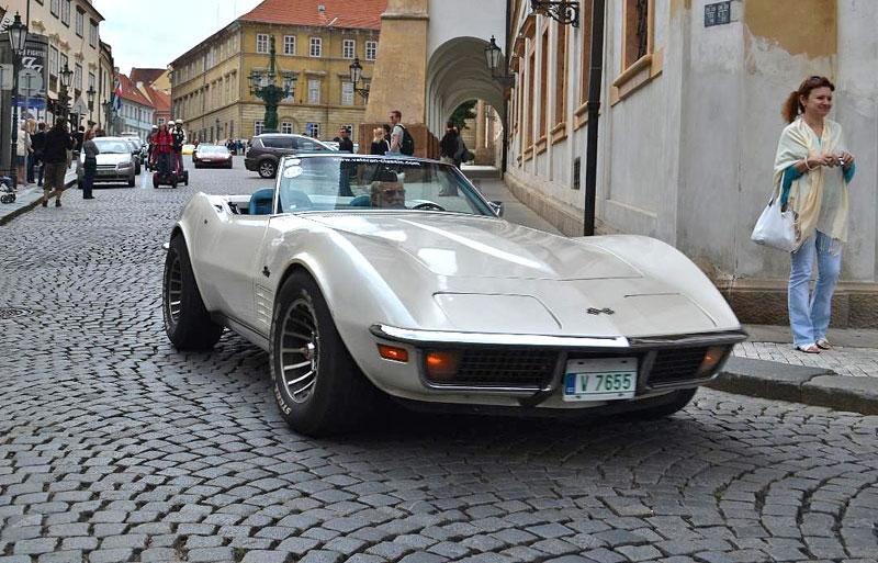 Corvette sraz Praha 2012: velká fotogalerie: - fotka 175