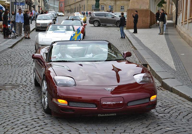 Corvette sraz Praha 2012: velká fotogalerie: - fotka 177