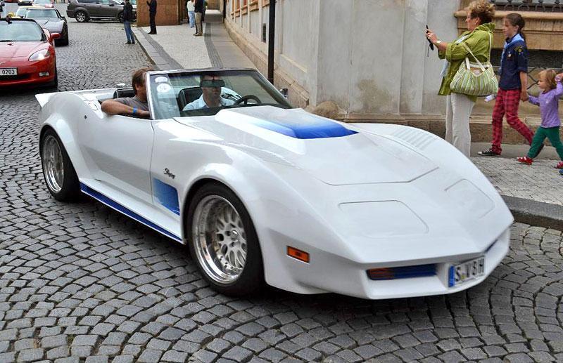 Corvette sraz Praha 2012: velká fotogalerie: - fotka 178