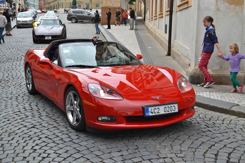 Corvette sraz Praha 2012: velká fotogalerie: - fotka 179