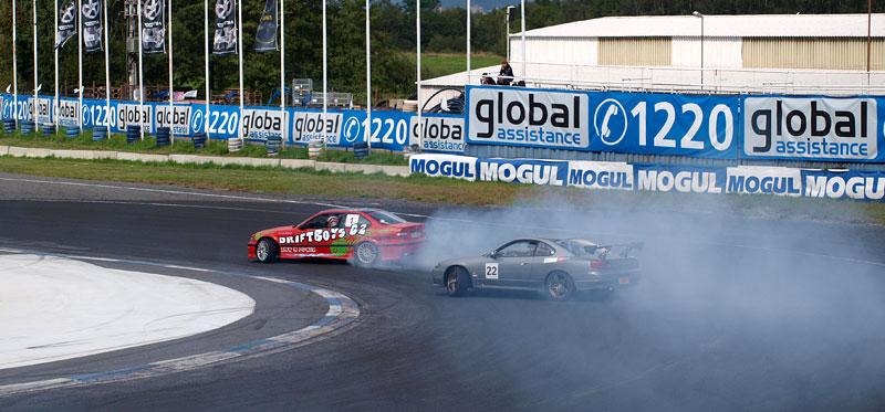 Czech Drift Series 2010 Sosnová: fotogalerie ze závěrečného závodu: - fotka 17