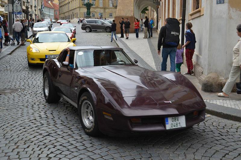 Corvette sraz Praha 2012: velká fotogalerie: - fotka 180