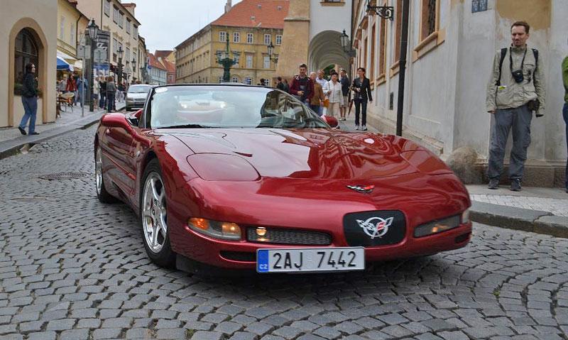 Corvette sraz Praha 2012: velká fotogalerie: - fotka 181
