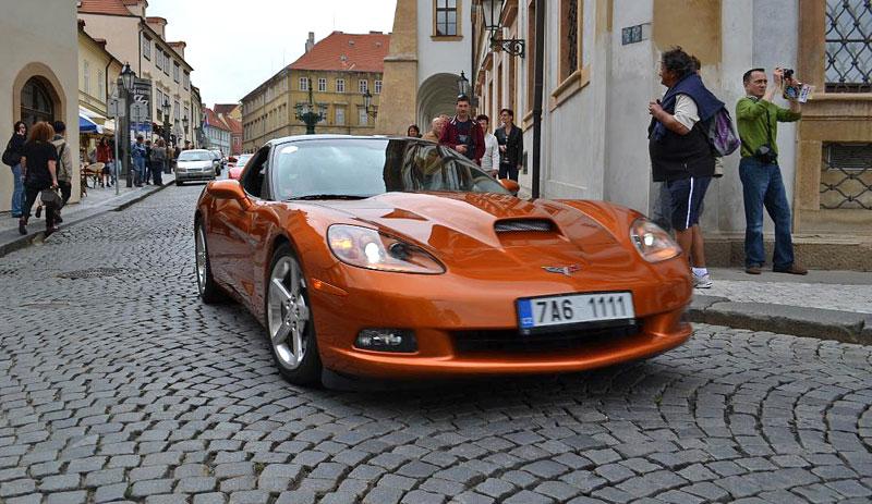 Corvette sraz Praha 2012: velká fotogalerie: - fotka 182
