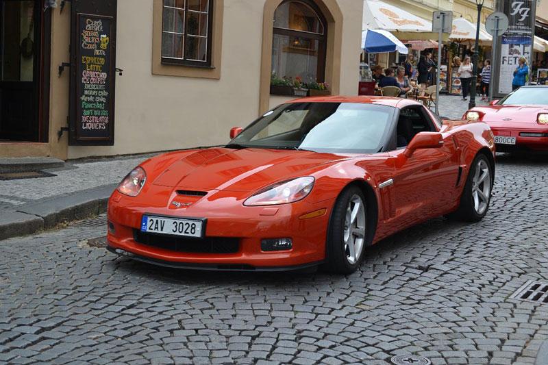 Corvette sraz Praha 2012: velká fotogalerie: - fotka 185