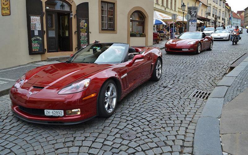 Corvette sraz Praha 2012: velká fotogalerie: - fotka 187