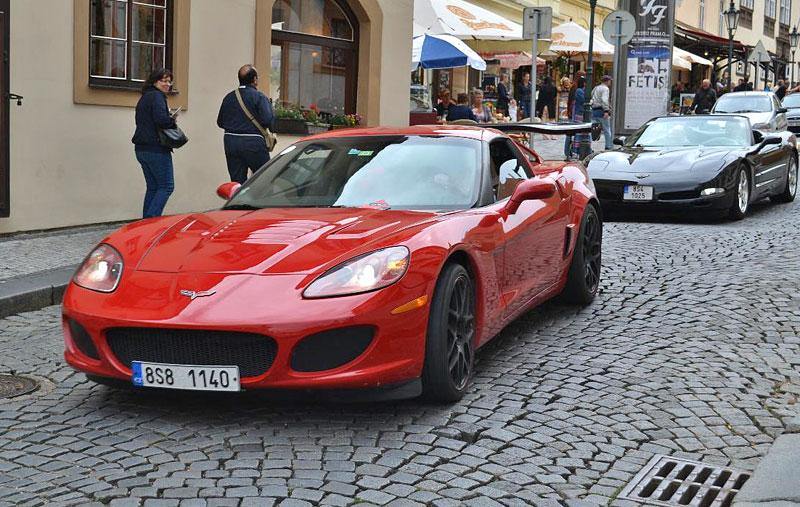 Corvette sraz Praha 2012: velká fotogalerie: - fotka 188