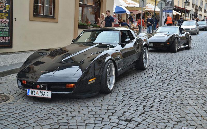 Corvette sraz Praha 2012: velká fotogalerie: - fotka 189