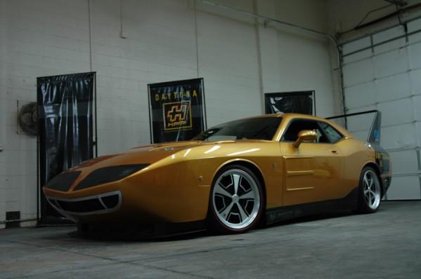 HPP Dodge Challenger Daytona Concept: - fotka 10