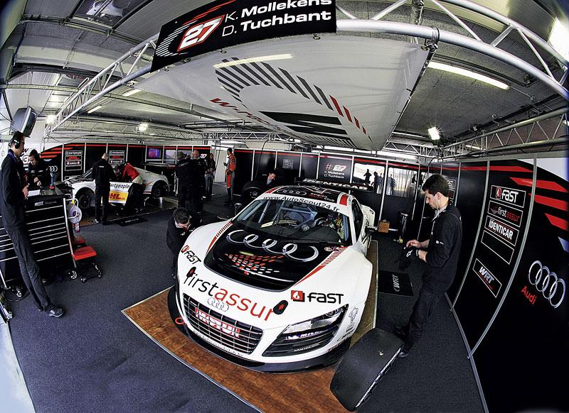 Audi R8 LMS: sedm vozů na 24 hodin Nürburgringu: - fotka 18