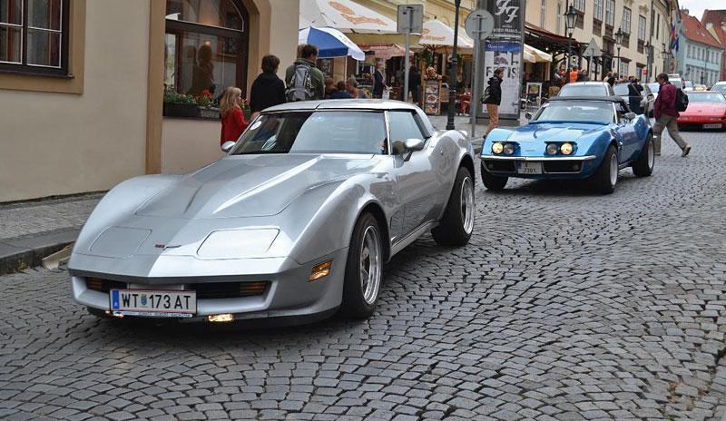 Corvette sraz Praha 2012: velká fotogalerie: - fotka 190