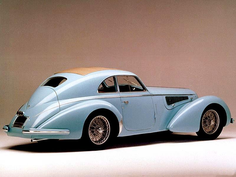 Pod lupou: Alfa Romeo 8C – včera a dnes: - fotka 12