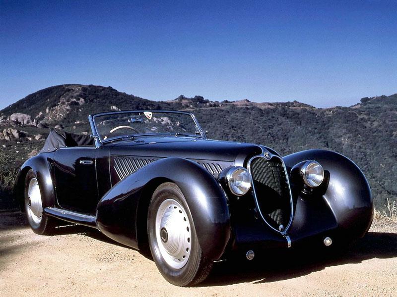 Pod lupou: Alfa Romeo 8C – včera a dnes: - fotka 13
