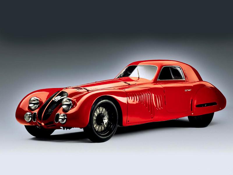 Pod lupou: Alfa Romeo 8C – včera a dnes: - fotka 15