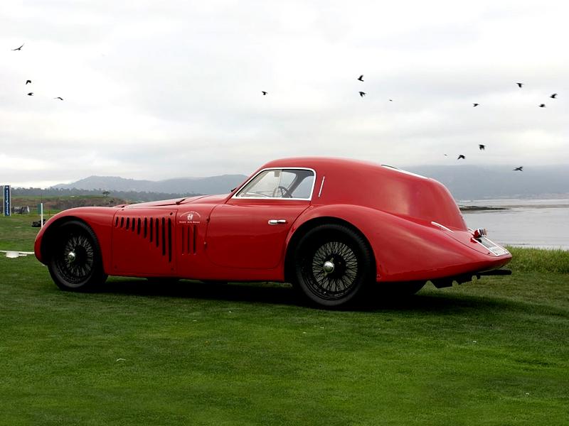 Pod lupou: Alfa Romeo 8C – včera a dnes: - fotka 16