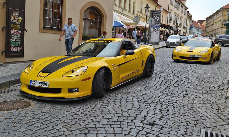 Corvette sraz Praha 2012: velká fotogalerie: - fotka 194