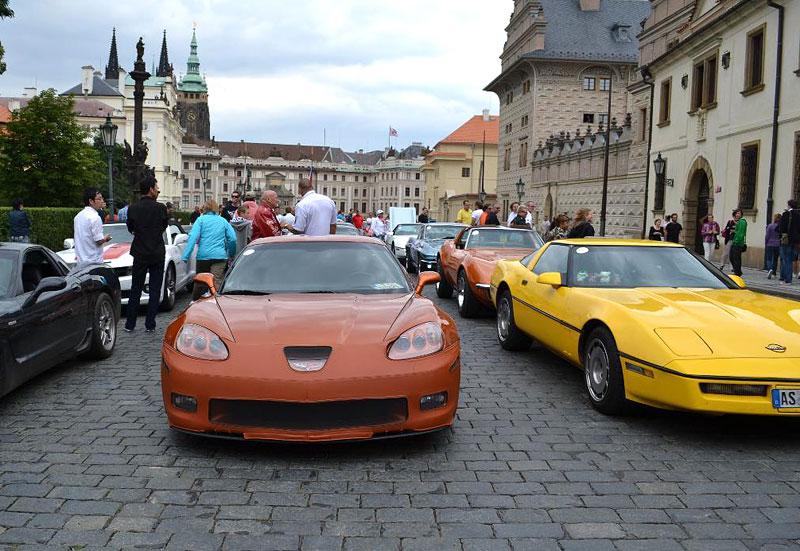 Corvette sraz Praha 2012: velká fotogalerie: - fotka 196