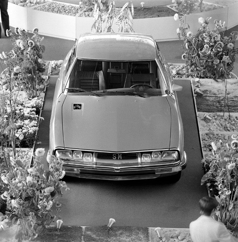 Citroën SM: GT z Francie slaví 40 let: - fotka 1