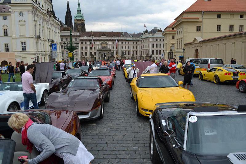 Corvette sraz Praha 2012: velká fotogalerie: - fotka 197