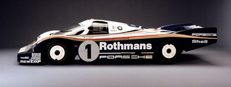 Pod lupou: Porsche 956 a 962 - Z Le Mans na silnice a zase zpátky: - fotka 8