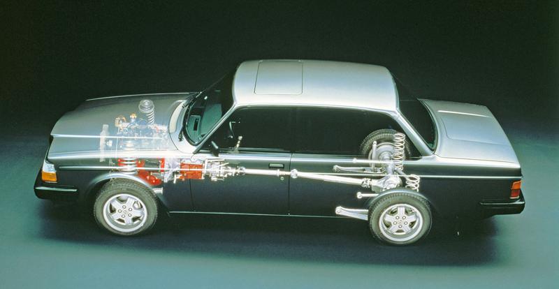 Pod lupou: Volvo 240 Turbo na závodní dráze: - fotka 6