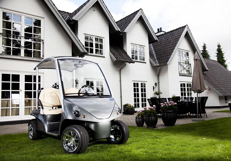 Garia: luxusní vozík pro milovníky golfu: - fotka 12