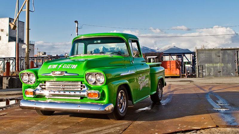 Retro Electro: 1958 Chevrolet Apache na elektřinu (video): - fotka 5