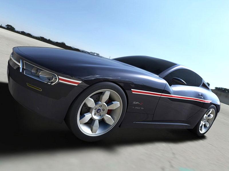 VW SP-2 Concept: Scirocco by mohlo mít sourozence: - fotka 4
